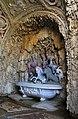 Giardino di castello, grotta degli animali o del diluvio, vasca di dx 00.jpg