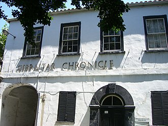 Gibraltar Chronicle - Gibraltar Chronicle printers.