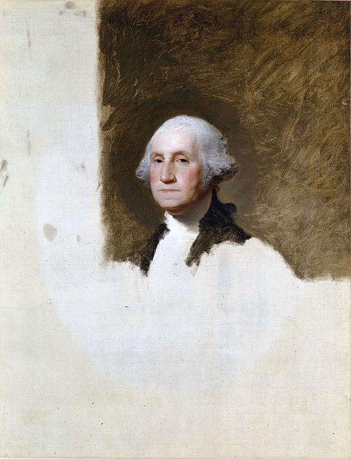 """George Washington,"" The Athenaeum Portrait by Gilbert Stuart"