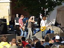 Gin Blossoms at Taste of Fort Collins 2009.jpg