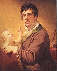 Giovanni Battista Lampi iunior con figlio.jpg