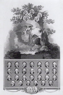 1802 Engraving Commemorating The Glorious First Of June