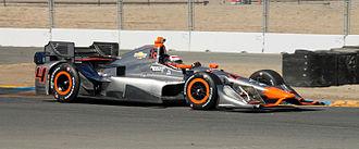 Stefano Coletti - Coletti during practice at Sonoma Raceway in 2015.