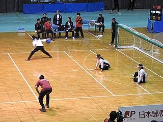 Japan womens national goalball team Japanese national team, for the Paralympic sport of goalball