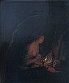 Godfried Schalcken - The Penitent Saint Mary Magdalene - KMSsp618 - Statens Museum for Kunst.jpg