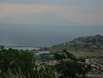 Imbros - View of Samothrace from Imbros
