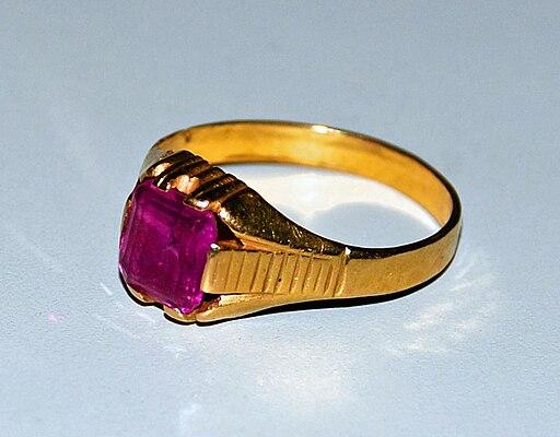 Gold Item Ring