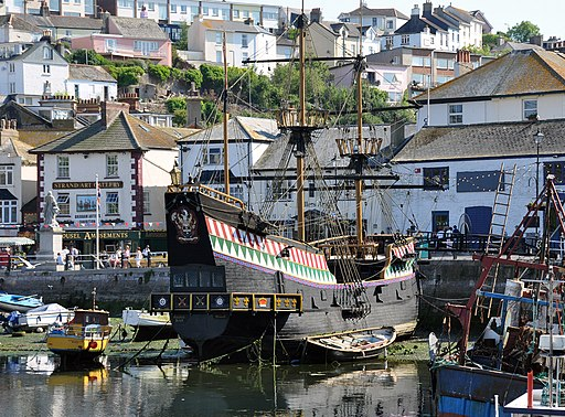 Golden Hind in Brixham