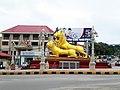 Golden Lions roundabout Sihanoukville Cambodia.jpg