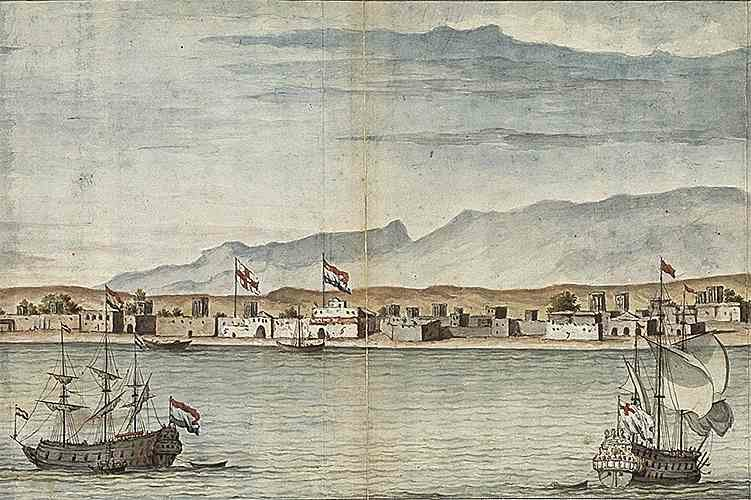 Gombroon·Persia·1704