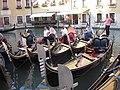 Gondolas in Orseolo Basin 02.JPG