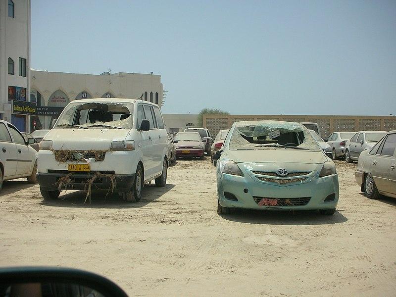 File:Gonu Damage in Qurum Commercial Area 31.JPG