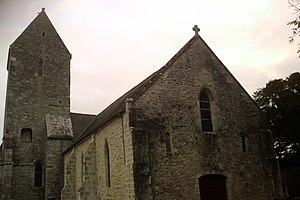 Église Saint-Ermeland de Gourbesville.
