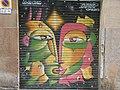 Graffiti Dues Cares Barcelona DSCN2947.jpg