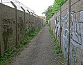Graffiti strewn alley - geograph.org.uk - 815404.jpg