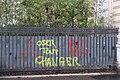 Graffitis avenue Kléber - Gilets jaunes.jpg