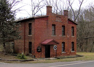 National Register of Historic Places listings in Grainger County, Tennessee - Image: Grainger county jail tn 1