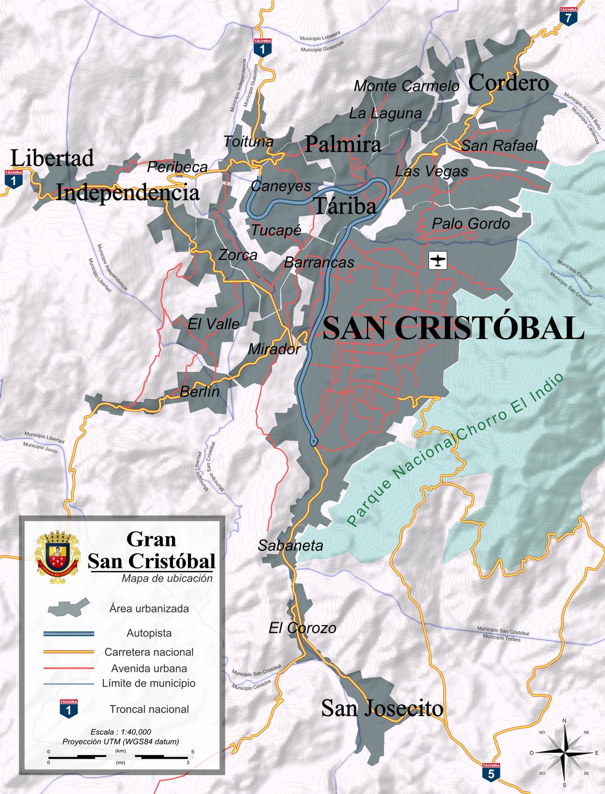 rea metropolitana de San Cristbal  Wikipedia la enciclopedia libre