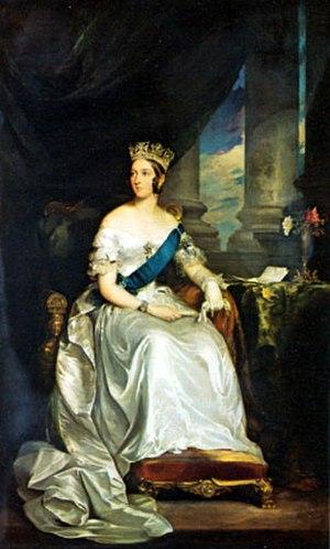 Francis Grant (artist) - Portrait of Queen Victoria, 1843
