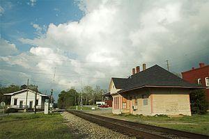 Grantville, Georgia - Grantville Depot