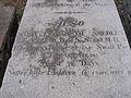 Grave of Maria Benham and child.jpg