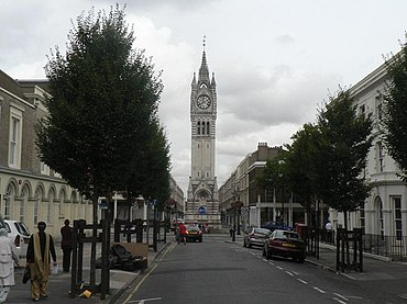 Gravesend, clock tower - geograph.org.uk - 558760.jpg