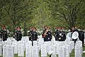 Graveside service for U.S. Army Air Forces 2nd Lt. Marvin B. Rothman at Arlington National Cemetery (33898467620).jpg