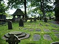 Graveyard, St James Church, Westhead - geograph.org.uk - 537723.jpg