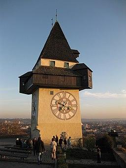 Graz I Innere Stadt Uhrturm 2