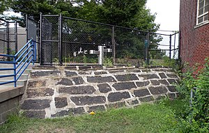 Troy Hill (Pittsburgh) - Image: Great Stone Wallof Allegheny Reservoir