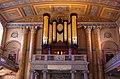 Greenwich - Chapel - View WSW on 1789 Samuel Green Organ.jpg