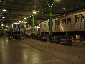 Greenwood Yard - TTC's Greenwood Shop located at the complex
