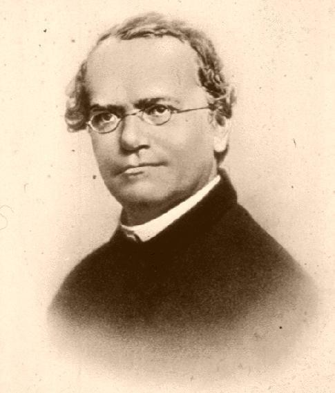 Gregor Mendel portrait