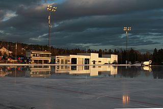 Gressbanen sports ground in Oslo, Norway