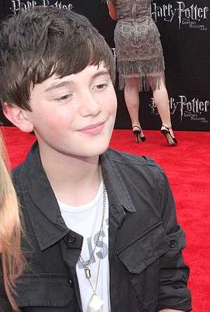 Greyson Chance - Greyson at the film premiere of Harry Potter and the Deathly Hallows – Part 2 in July 2011.