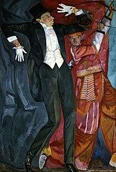 Boris Grigoriev: Portrait of Vsyevolod Meyerhold
