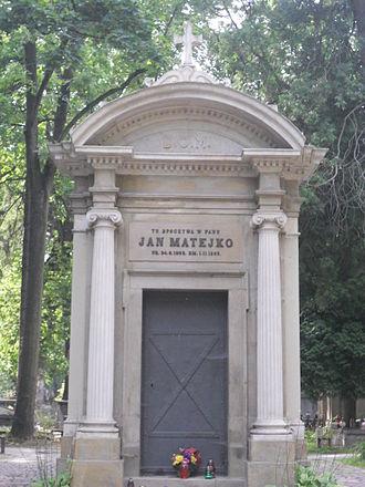 Jan Matejko - Matejko's tomb