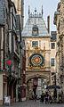 Gros-Horloge, Rouen, West View 140215 2.jpg