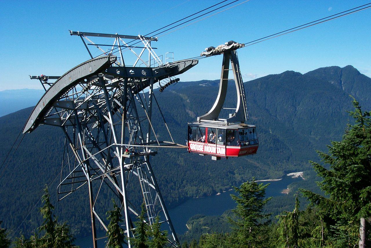 File Grouse Mountain Gondola Jpg Wikimedia Commons