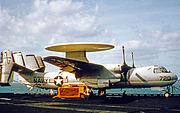 Grumman E-2A 152485 VAW-122 Independence 27.09.69