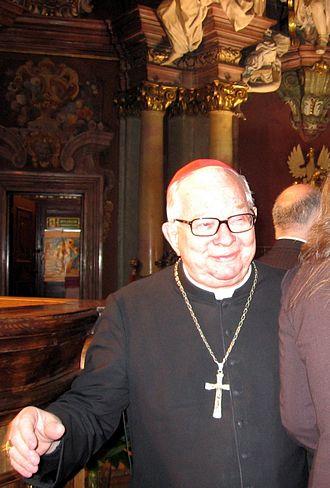 Cardinals created by John Paul II - Henryk Gulbinowicz (b. 1923), made a cardinal on 25 May 1985.