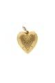 Guldhjärta med Karl XIII intialer, från 1810-talet - Livrustkammaren - 97864.tif