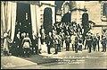 Gustav Liersch & Co. PC 04248 Die Einweihung des Rathauses in Hannover Begrüßung des Kaisers durch den Stadtdirektor Bildseite Heinrich Tramm Wilhelm II.jpg