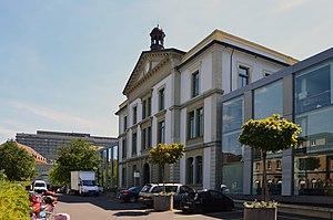 Lausanne University Hospital - Image: Hôpital Cantonal Lausanne