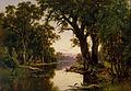 H.J. Johnstone - A billabong of the Goulburn, Victoria - Google Art Project.jpg