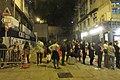 HK 上環 Sheung Wan 差館上街 Upper Station Street night 太平山街 Tai Ping Shan Street 觀音堂 Kwun Yum Tong Temple 觀音借庫 Kwun Yum Treasury Opening Festival March 2019 IX2 03.jpg
