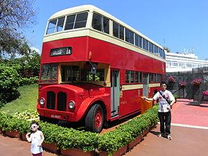 Kowloon Motor Bus - Preserved AEC Regent V in April 2012