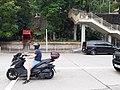 HK CWB 大坑 Tai Hang 銅鑼灣道 Tung Lo Wan Road red temple n outdoor stairs motorbike rider October 2019 SS2 50.jpg