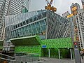 HK Central Exchange Square construction site The Forum Mar-2013.JPG
