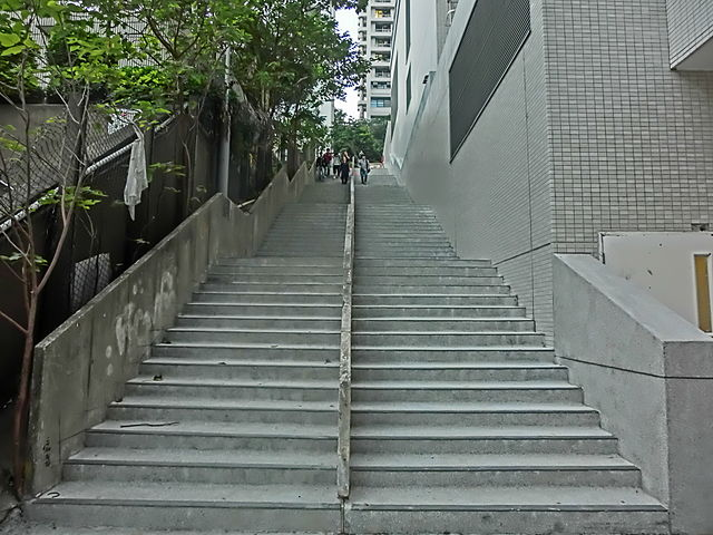 File Hk Cheung Sha Wan Wing Ming Street Outdoor Stairs